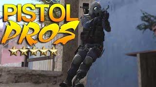 CS:GO - Pistol PROS! #34