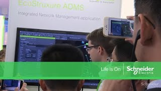 EcoStruxure Grid at Hannover Messe 2017