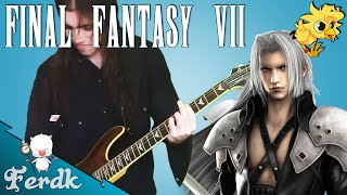 "Final Fantasy VII - ""Birth of a God"" 【Metal Guitar Cover】 by Ferdk"