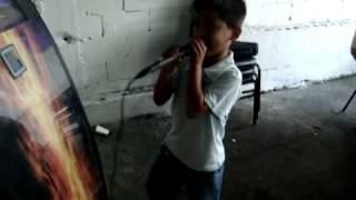 Chuyito Cantando La Cancion  El columpio Live .. Sus Inicios