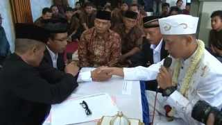 Prosesi Acara Pernikahan (Full), Dari Awal Sampai Selesai. Awas Baper yang jomblo ... hehehe width=