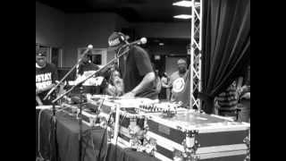 "DJ CLARK KENT stops DJ SCRATCH from ""Showing Off"""