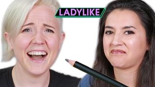 Women Taste Edible Makeup • Ladylike
