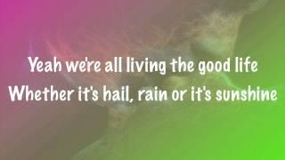 The Script - Hail Rain or Sunshine Official Audio Lyrics Vevo