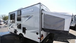 2017 Jayco Jay Feather 16 XRB Hybrid Travel Trailer Video Tour • Guaranty.com