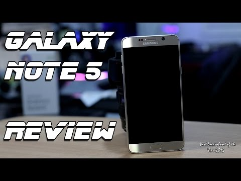 Samsung Galaxy Note 5 - Review