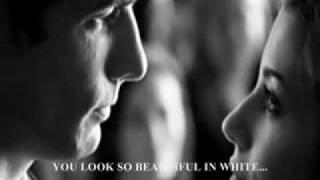 Beautiful in White (with lyrics)