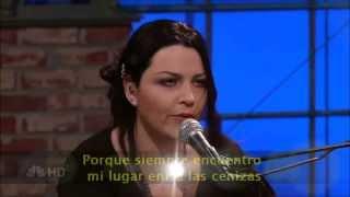 Evanescence - Lithium (Subtitulada en español) (Live)
