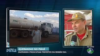 Incêndios preocupam prefeitos da região Sul do Piauí