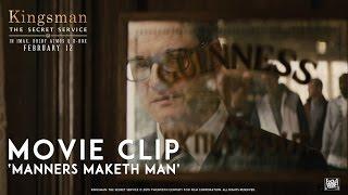 Kingsman: The Secret Service ['Manners Maketh Man' Movie Clip in HD (1080p)]