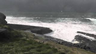 Mullaghmore, oceano in tempesta