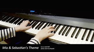 "라라랜드 La La Land OST : ""Mia & Sebastian's Theme"" Piano cover 피아노 커버"