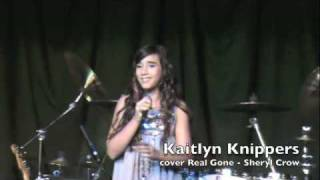 Kaitlyn(12) Concert Series#2 cover REAL GONE-Sheryl Crow