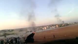 Syria 13-10-2012 Aleppo FSA shot down another Regime's Warplane