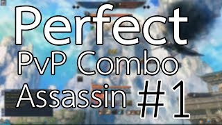 Perfect PvP Combo Assassin #1 - Blade and Soul Thailand