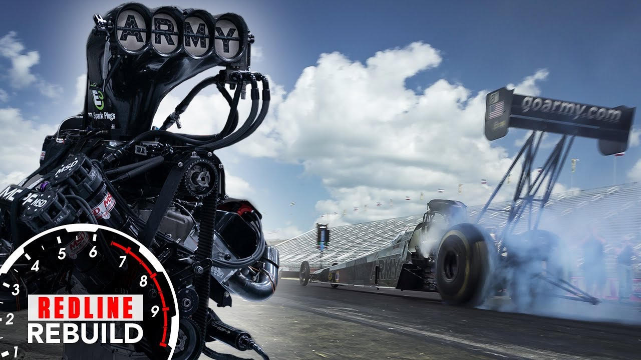 Redline Rebuild Explained: What it takes to build an 11,000-hp Top Fuel dragster V-8