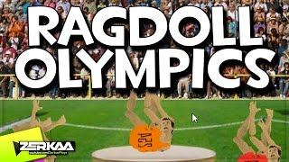 BEST OLYMPICS GAME EVER | Ragdoll Olympics (with Simon)
