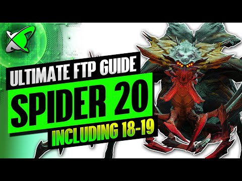 """Ultimate """"FREE TO PLAY"""" Spider 18-20 Guide 