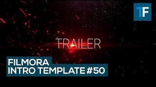 Wondershare Filmora Intro Template 50 - Cinematic Intro + Free Download