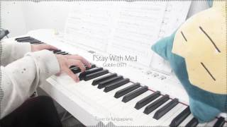 Goblin 도깨비 OST1 - Stay With Me by CHANYEOL (찬열), PUNCH (펀치) - piano cover w/ sheet music
