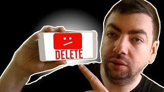 Cum sa iti stergi canalul de Youtube pe telefon (Android & iPhone)