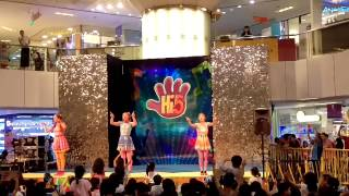 Hi5 Live at United Square Shopping Mall Singapore - ending (part 4)