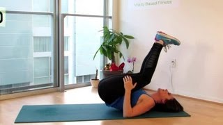 A Stretch to Lift the Leg Over the Head : Stretching Tips