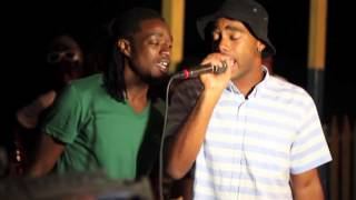 Macten Records Spanky performs in Jamaica Live!