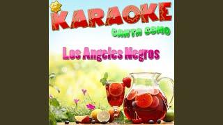 Tanto Adios (Popularizado por los Angeles Negros) (Karaoke Version)