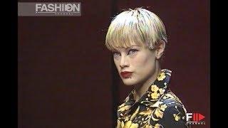 JUNKO SHIMADA Fall Winter 1996 1997 Paris - Fashion Channel