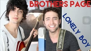 Lonely Boy - The Black Keys - Brothers Page Cover