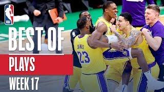 NBA's Best Plays | Week 17