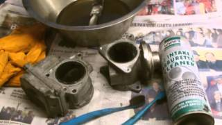 how to clean a EGR VALVE VW 19 TDI