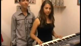 Andrada si Vlad Dinca   Formatia 'ParaMusic' Petrisor Dinca Pitesti 17