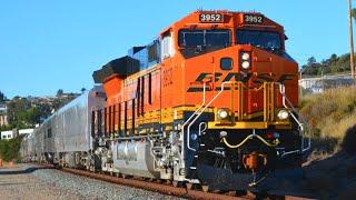 California Trains! 1 Hour, 150+ Trains!