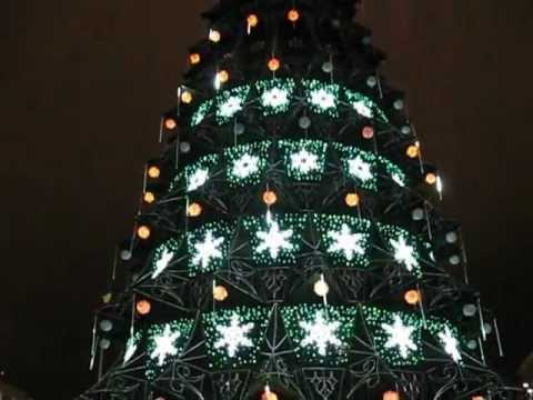 Ukraine Kiev, Christmas Tree 2013