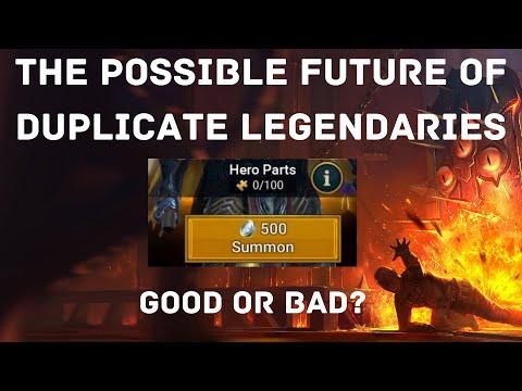 The Potential Future of Duplicate Legendaries I Raid Shadow Legends