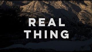 Zac Brown Band - Real Thing (Lyric Video)