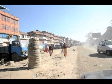 Road to Dhulikhel, Nepal, from Kathmandu