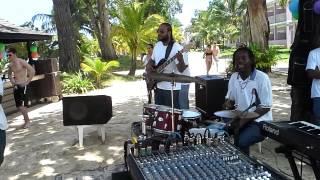 Rimshot Reggae Band live at Riu Palace Negril