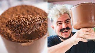 MOUSSE DE CHOCOLATE SUPER CREMOSA E FÁCIL   BIGODE NA COZINHA