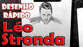 Léo Stronda (Fábrica de Monstros) - DESENHO RÁPIDO