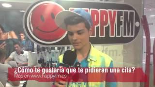Trucos para conquistar a Abraham Mateo - Happy FM