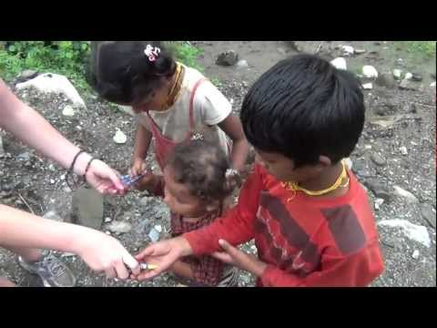 Nepal Trek: Handing Out Gifts