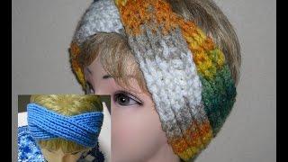 Повязка на голову в виде чалмы.   headband turban