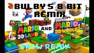 Super Mario 3D Land Snow Mountain + Super Mario 3D World Snow Level + 8 Bit Remix