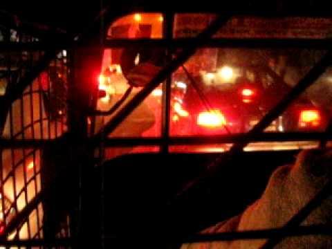 Bangladesh Dhaka night trafic 1 of 7
