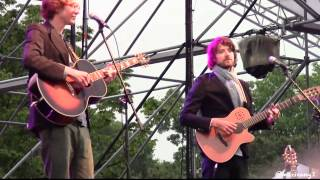 Kings of Convenience-Cayman Islands @Seoul Jazz Festival 2013