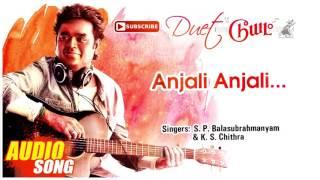 Anjali Anjali Song   Duet Tamil Movie Songs   Prabhu   Meenakshi   Ramesh Aravind   AR Rahman width=
