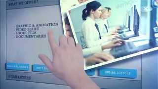Touch Screen Presentation After Effects Template